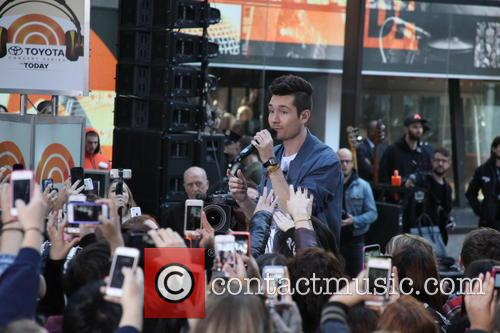 Bastille performing live on the 'Today' show