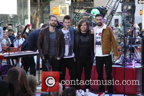 Bastille, Will Farquarson, Dan Smith, Chris 'woody' Wood and Kyle Simmons