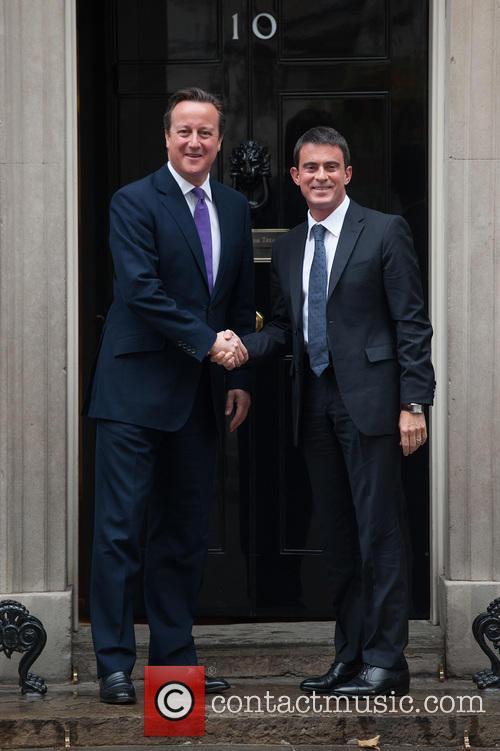 David Cameron and Manuel Valls 2