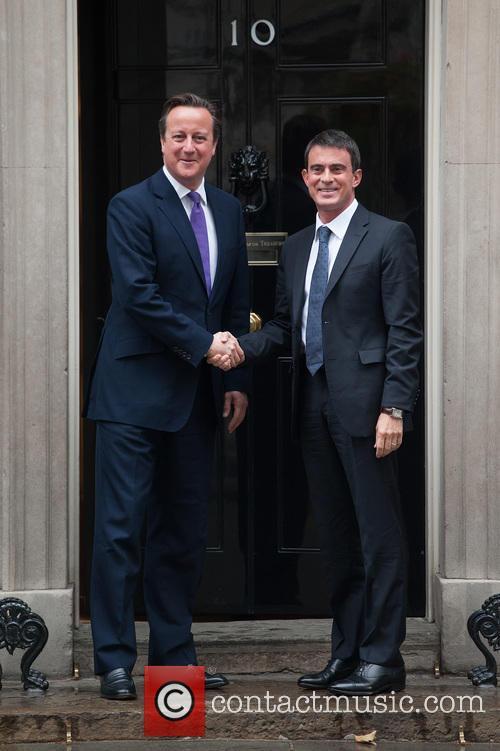 David Cameron and Manuel Valls 1