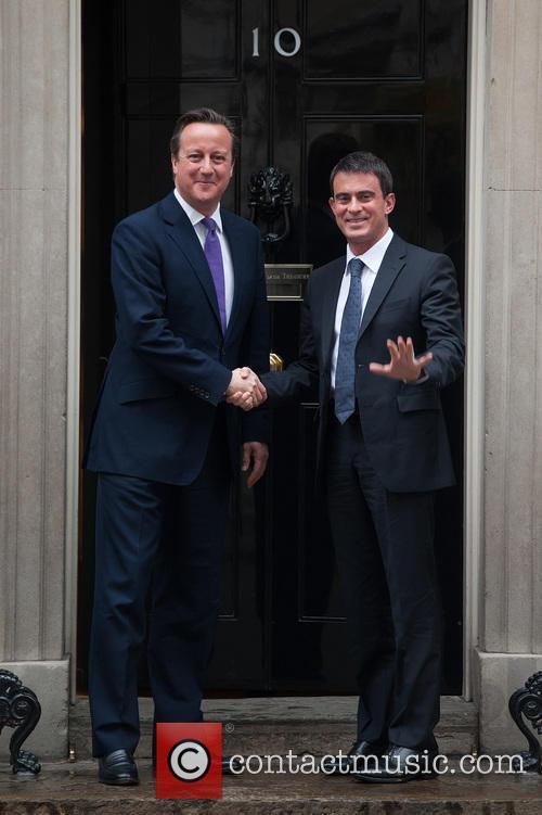 David Cameron and Manuel Valls 3