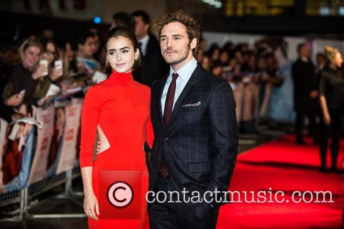 Sam Claflin and Lily Collins 9