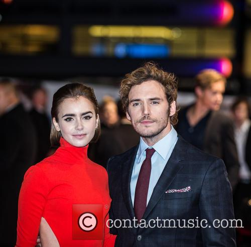 Sam Claflin and Lily Collins 10
