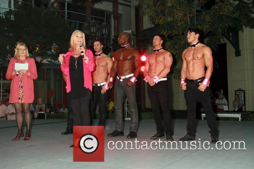 Olivia Newton-john and Chippendales 5