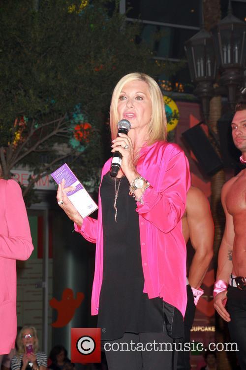 Olivia Newton-John Breast Cancer Awareness Month