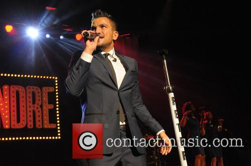Peter Andre performs at The Royal Albert Hall