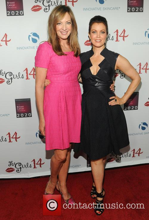Bellamy Young and Allison Janney 1