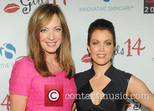 Bellamy Young and Allison Janney 2