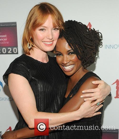 Shanola Hampton and Alicia Witt 3
