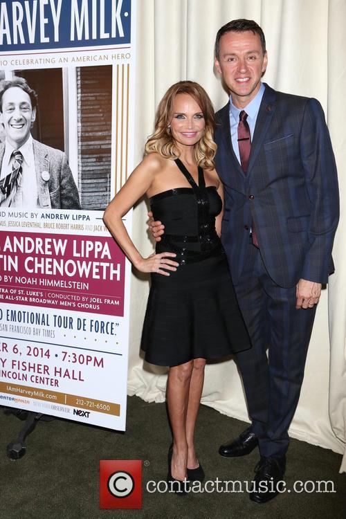 Kristin Chenoweth and Andrew Lippa 4