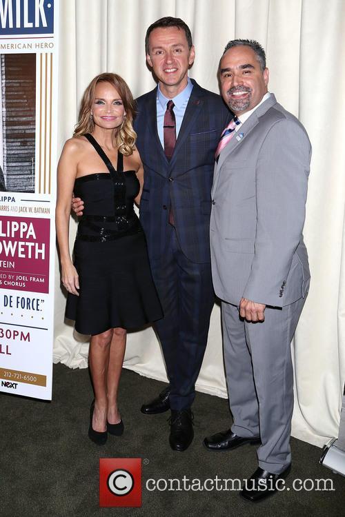 Kristin Chenoweth, Andrew Lippa and Thomas Krever 5