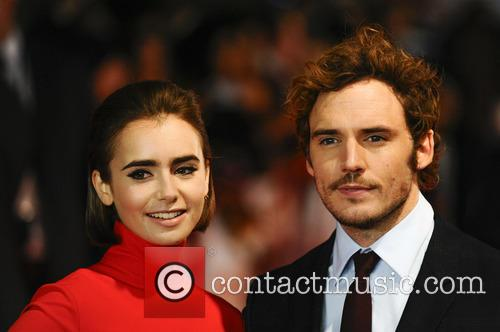 Sam Claflin and Lily Collins 8