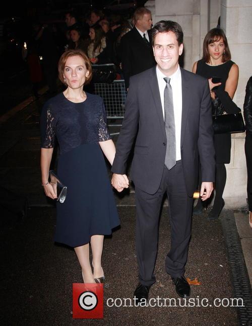 Ed Miliband and Justine Thornton 2