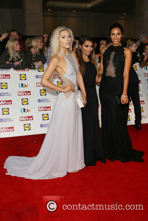 Mollie King, Vanessa White, Rochelle Wiseman, Rochelle Humes and The Satrudays 1