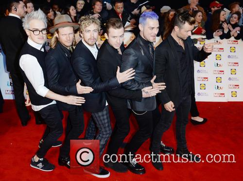 Mcbusted, Tom Fletcher, Danny Jones, Dougie Poynter, Harry Judd, James Bourne and Matt Willis