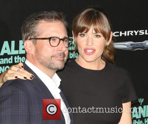 Steve Carell and Jennifer Garner