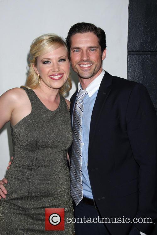 Adrienne Frantz and Scott Bailey