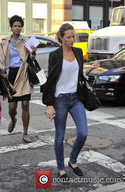 Christy Turlington Burns in Soho