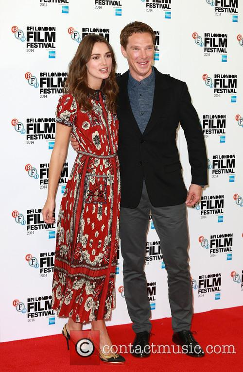 Keira Knightley and Benedict Cumberbatch 1