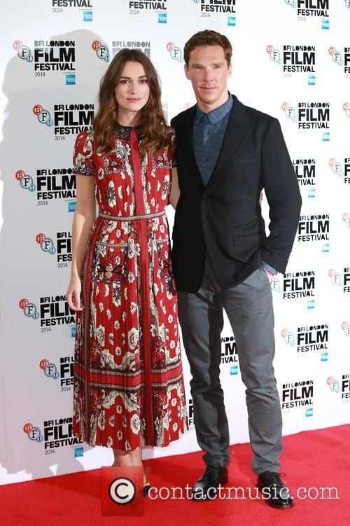 Keira Knightley and Benedict Cumberbatch 2