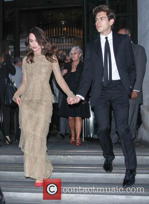 Keira Knightley and James Righton leave hotel