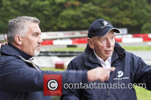 Paul Hollywood and John Surtees 5