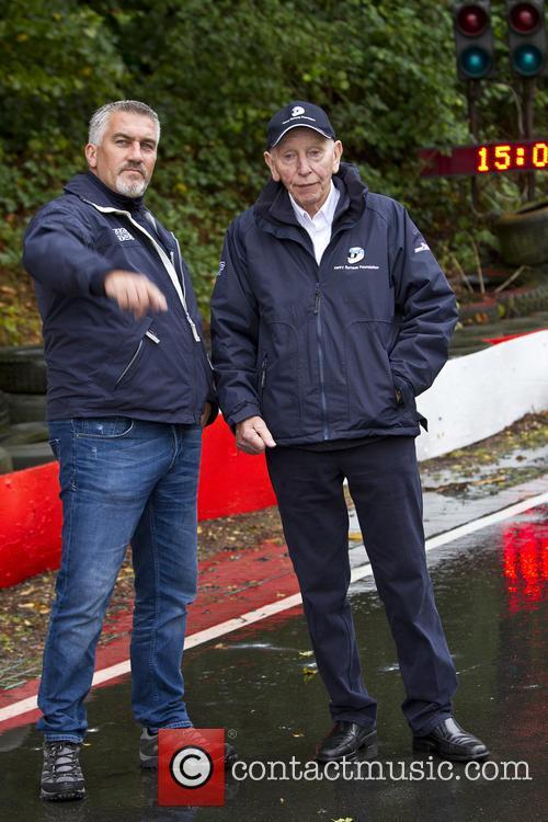 Paul Hollywood and John Surtees 6