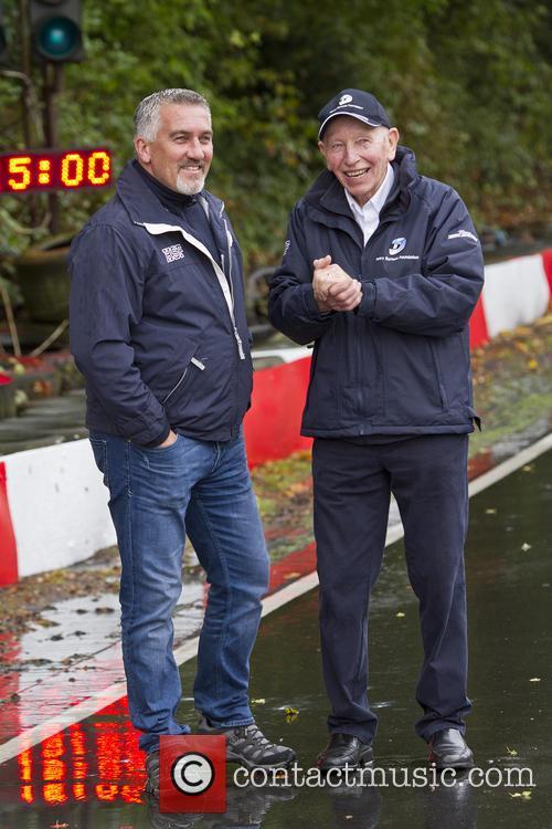Paul Hollywood and John Surtees 8