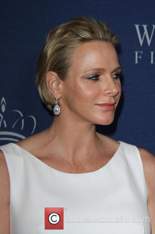 Christian Dior and Princess Charlene Of Monaco