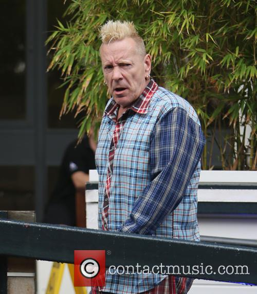 John Lydon at the ITV Studios