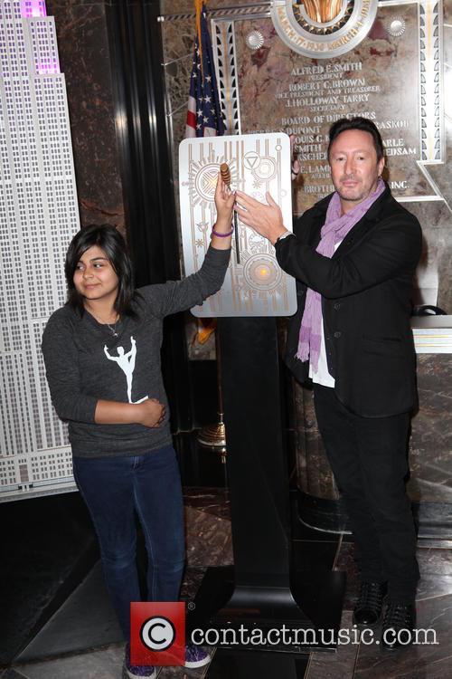 Amarissa Mauricio and Julian Lennon 1