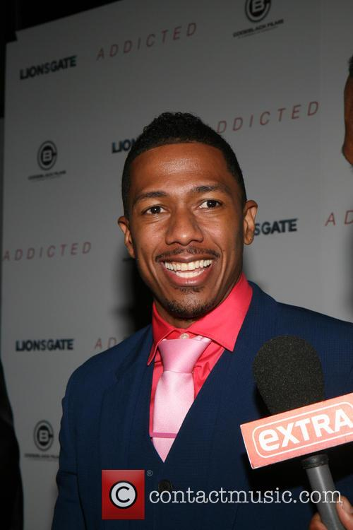 Nick Cannon at New York screening of 'Addicted'