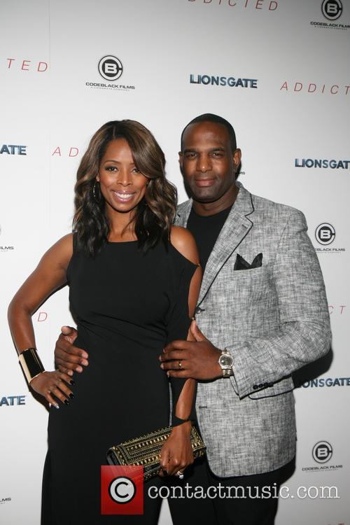 Tasha Smith and Keith
