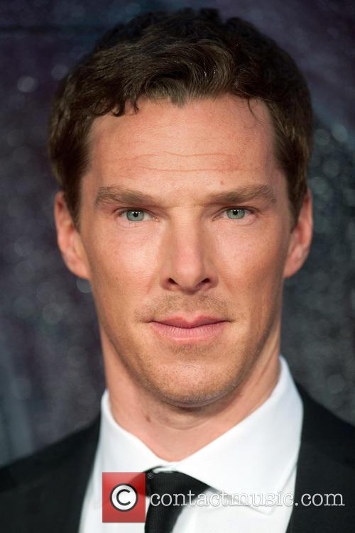 Benedict Cumberbatch at The Imitation Game opening