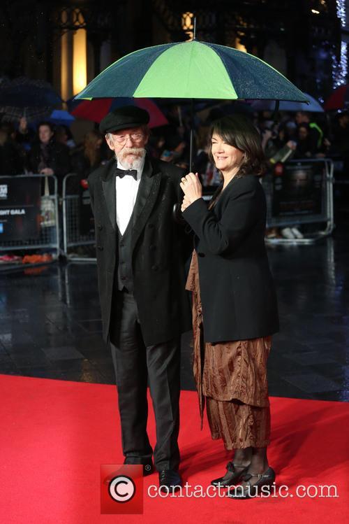 Anwen Rees-myer and John Hurt 1