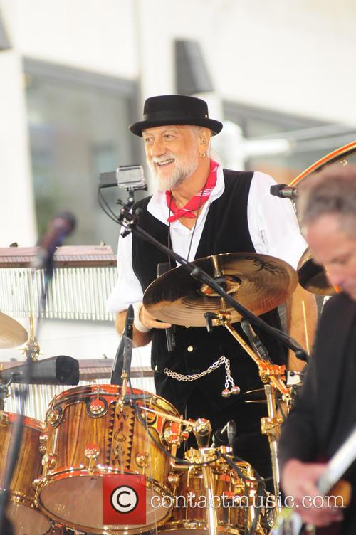 Mick Fleetwood with Fleetwood Mac live on 'Today'