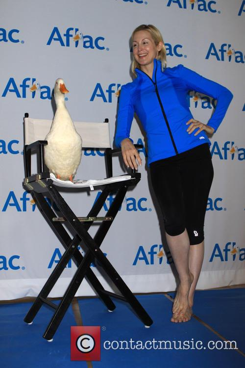 Aflec Duck and Kelly Rutherford 2