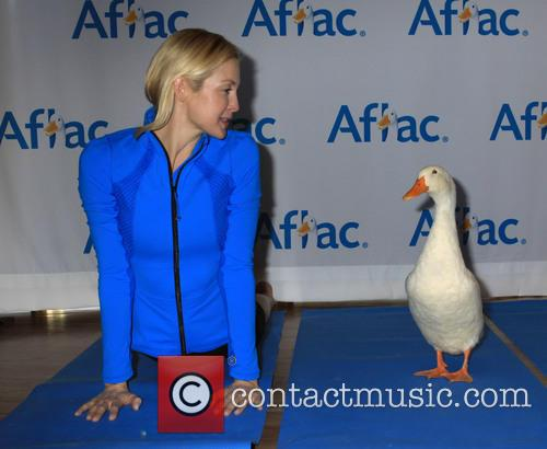 Yoga with the Aflec Duck