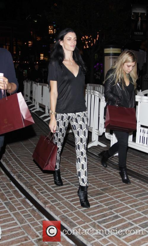 Liberty Ross leaves an event at The Grove