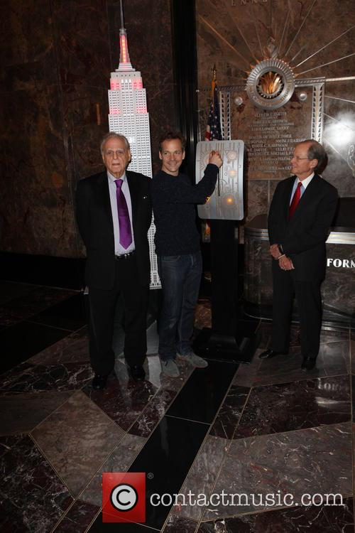 Donald Rubin, Co-founder, Rubin Museum Of Art, Peter Sarsgaard, Robert Baylis and President Of The Board 1
