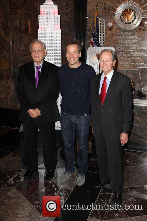 Donald Rubin, Co-founder, Rubin Museum Of Art, Peter Sarsgaard, Robert Baylis and President Of The Board 2