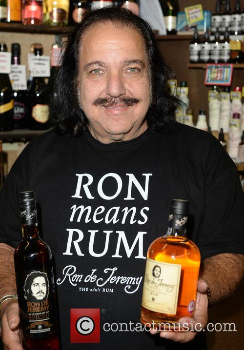 Ron Jeremy attends a rum bottle signing
