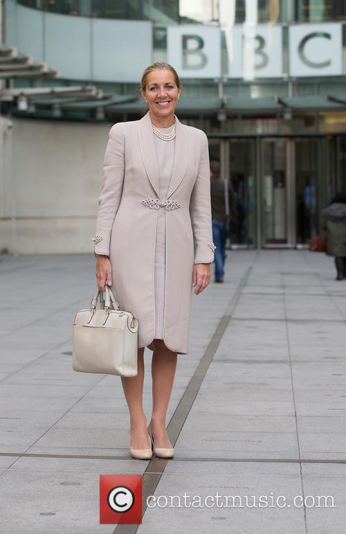 Rona Alison Fairhead, arrives at the BBC in...