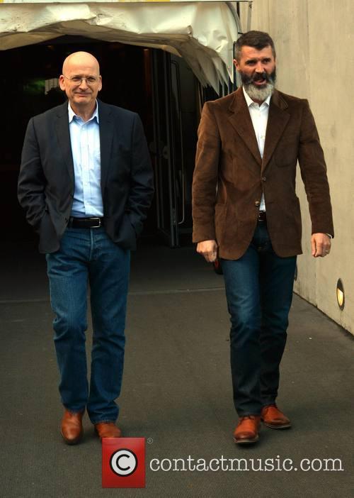 Roddy Doyle and Roy Keane