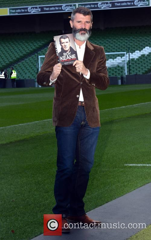 Roy Keane launches his autobiography