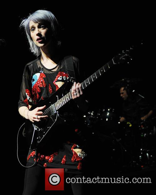 St. Vincent performs at the Fillmore Miami Beach