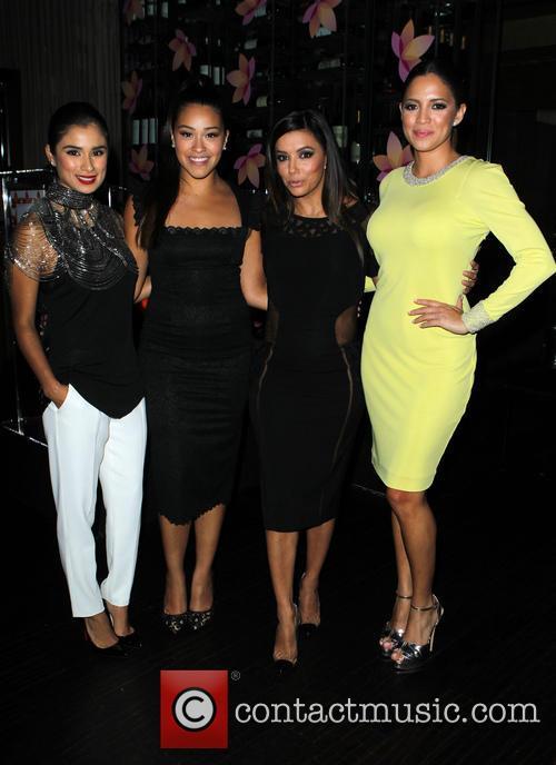 Diane Guerrero, Gina Rodriguez, Eva Longoria and Pamela Silva Conde 10