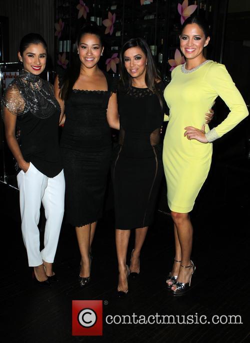 Diane Guerrero, Gina Rodriguez, Eva Longoria and Pamela Silva Conde 11