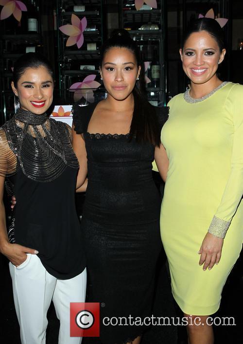 Diane Guerrero, Gina Rodriguez and Pamela Silva Conde 9