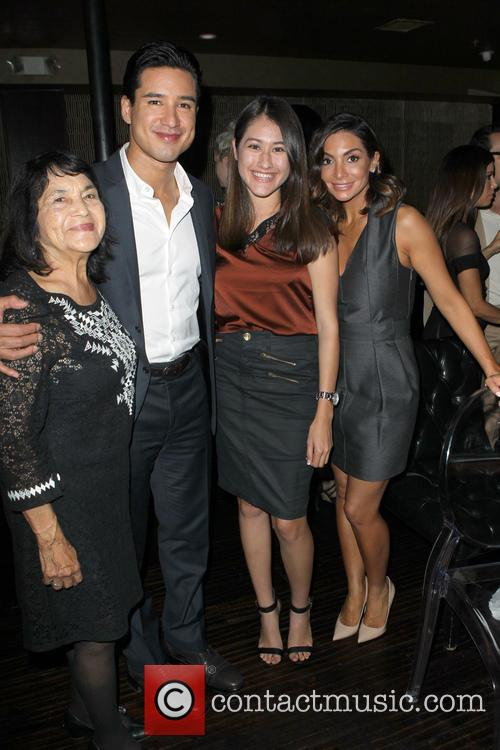 Dolores Huerta, Mario Lopez and Courtney Laine Mazza 2